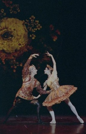 Greg Horsman and Miranda Coney, 'Nutcracker' 1992