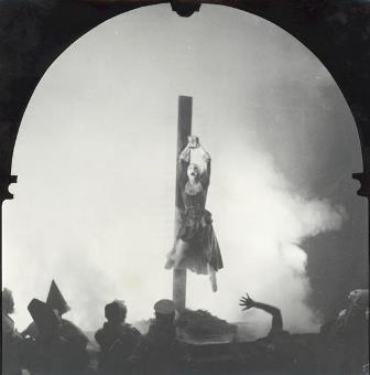 Paula Hinton in Walter Gore's 'The Crucifix', 1952