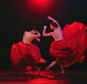 Felicia Palanca & Sarah Peace in 'Bella Figura'. Photo: Jeff Busby