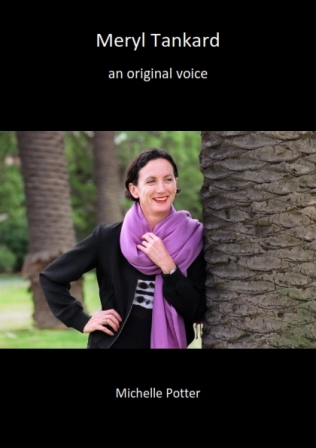Cover design 'Meryl Tankard: an original voice'