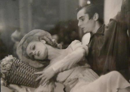 Scene from 'Paganini', South America 1940s