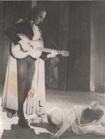 Scene from 'Paganini', Cordoba, South America, 1942