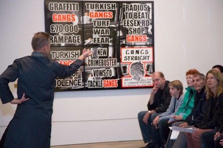 'Caught between Kapoor', International Galleries (Gallery 3), National Gallery of Australia, 2013