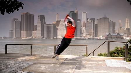 Jeremy Nelson in 'Virtuosi', filmed in New York