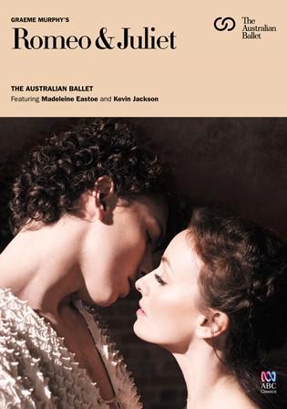 Graeme Murphy's 'Romeo & Juliet' DVD cover
