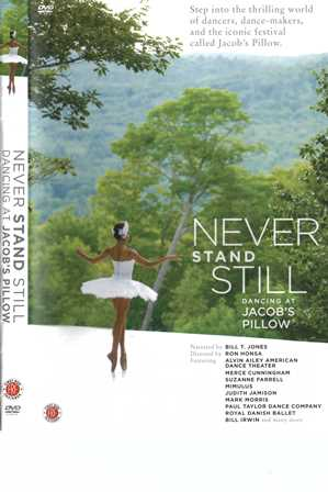 'Never stand still'. DVD cover
