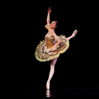 Ako Kondo in 'Paquita', The Australian Ballet. Photo © Jeff Busby, 2013