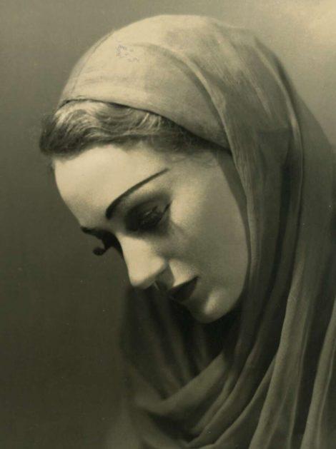 Laurel Martyn as Remorse in Fantasy on Grieg's Piano Concerto, in A Minor, Borovansky Ballet, 1945
