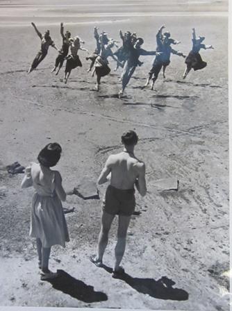 Filming Walter Gore's 'Simple Symphony', Sandgate, Queensland,1948