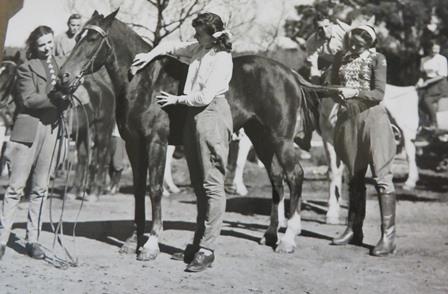 Ballet Rambert in Australia. Horseriding excursion, 1948