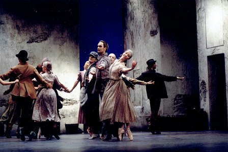 Artists of Finnish National Ballet in 'Giselle', 1998. Photo: © Kari Hakli