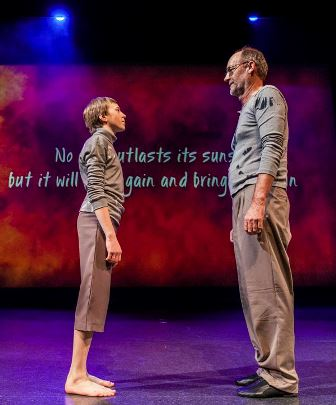 Casper Ilschner from Quantum Leap & David Turbayne from GOLD in a scene from 'Samsara'. Photo: Lorna Sim