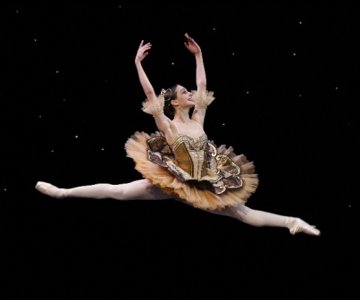 Dimity Azoury in 'Paquita', the Australian Ballet 2014. Photo: Jeff Busby