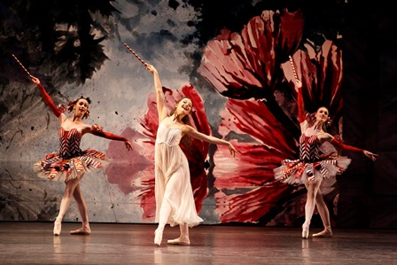 Benedicte Bemet and artists of the Australian Ballet in 'The Nutcracker', 2014. Photo Jeff Busby