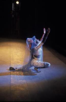 Chitrasena dancer, 1963 Australian tour. Photo Walter Stringer