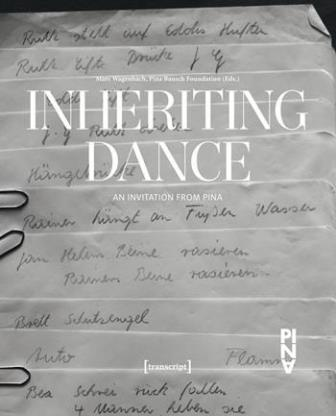 'Inheriting dance' cover image