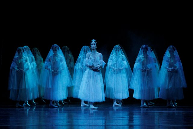Ako Kondo as Myrtha in 'Giselle'. The Australian Ballet, 2015. Photo: Jeff Busby