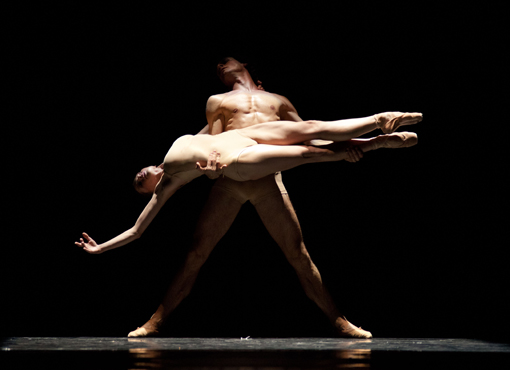 Dancers of the Polish National Ballet in 'Moving Rooms'