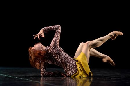 Sylvie Guillem in 'Bye'. Photo: Bill Cooper