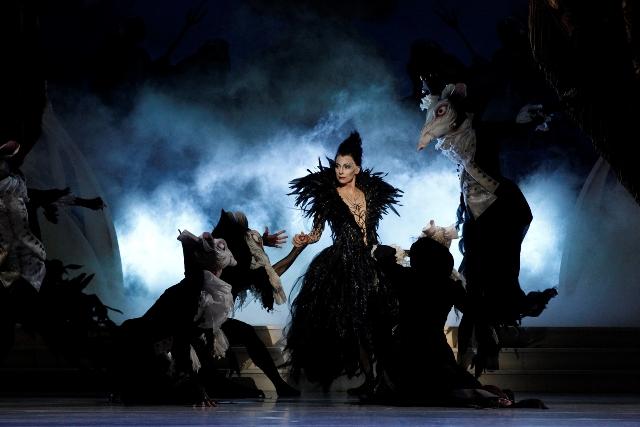 Lynette Wills as Carabosse in 'The Sleeping Beauty'. The Australian Ballet 2015. Photo Jeff Busby