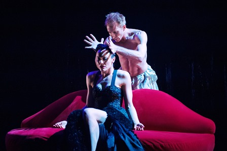 Elise May and Daryl Brandwood in Natalie Weir's 'Carmen Sweet'. Expressions Dance Company. Photo: Dylan Evans