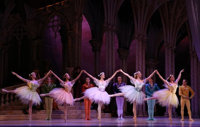 The Fairies and their Cavaliers in Queensland Ballet's 'Sleeping Beauty', 2015