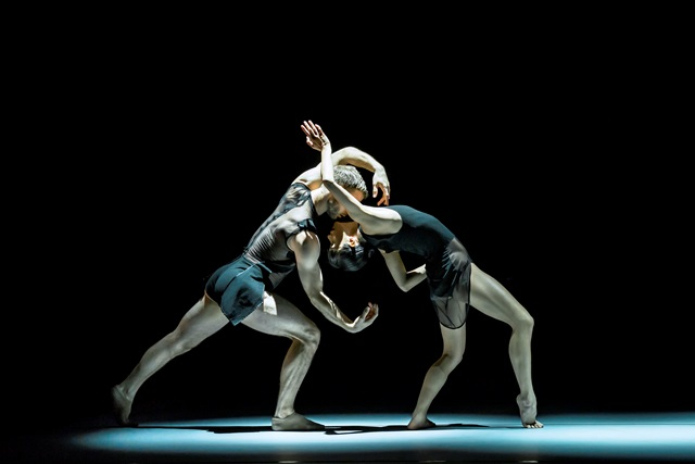 Cass Mortimer Eipper and Charmene Yap in 'Les Illuminations' . Sydney Dance Company 2015. Photo: Peter Grieg