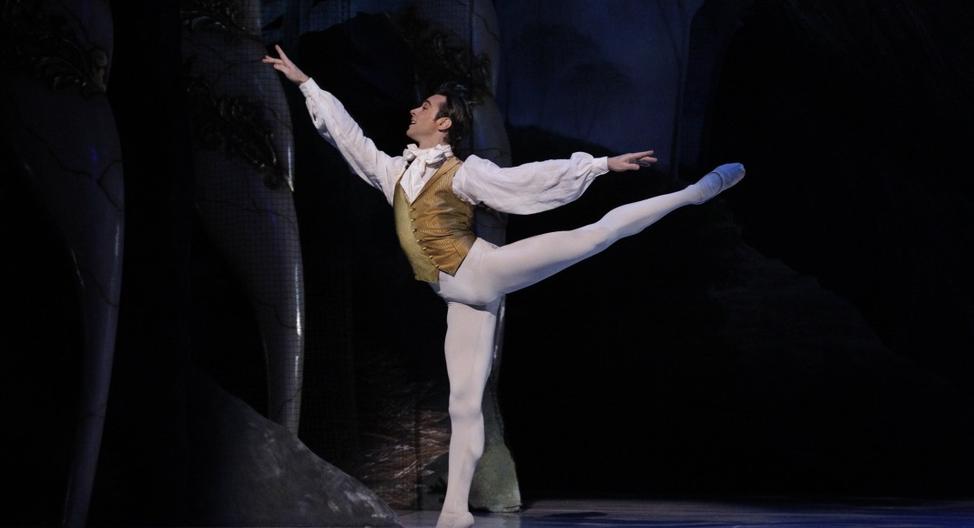 Daniel Gaudiello as the Prince in 'The Sleeping Beauty'. The Australian Ballet, 2015