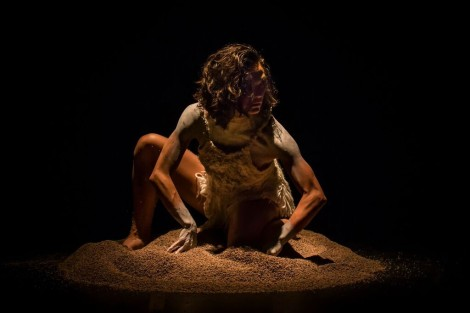 Janessa Dufty in Daniel Riley's 'Reign', Sydney Dance Company 2015. Photo: Peter Greig