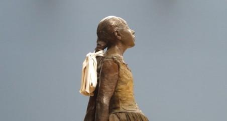Edgar Degas, Little fourteen year old dancer (detail)