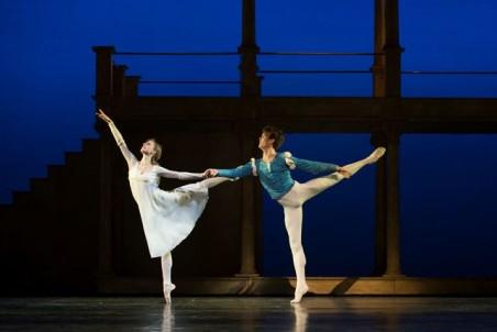 Ida Praetorius and Andreas Kaas. The Royal Danish Ballet. Photo: Costin Radu