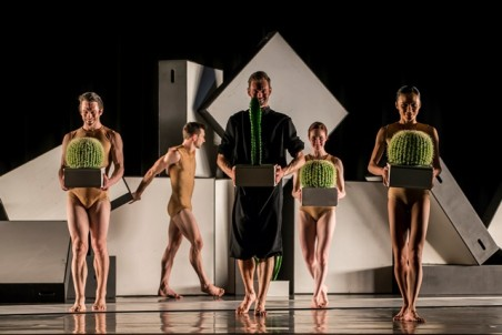 Sydney Dance Company in 'Cacti'. Photo: Peter Greig