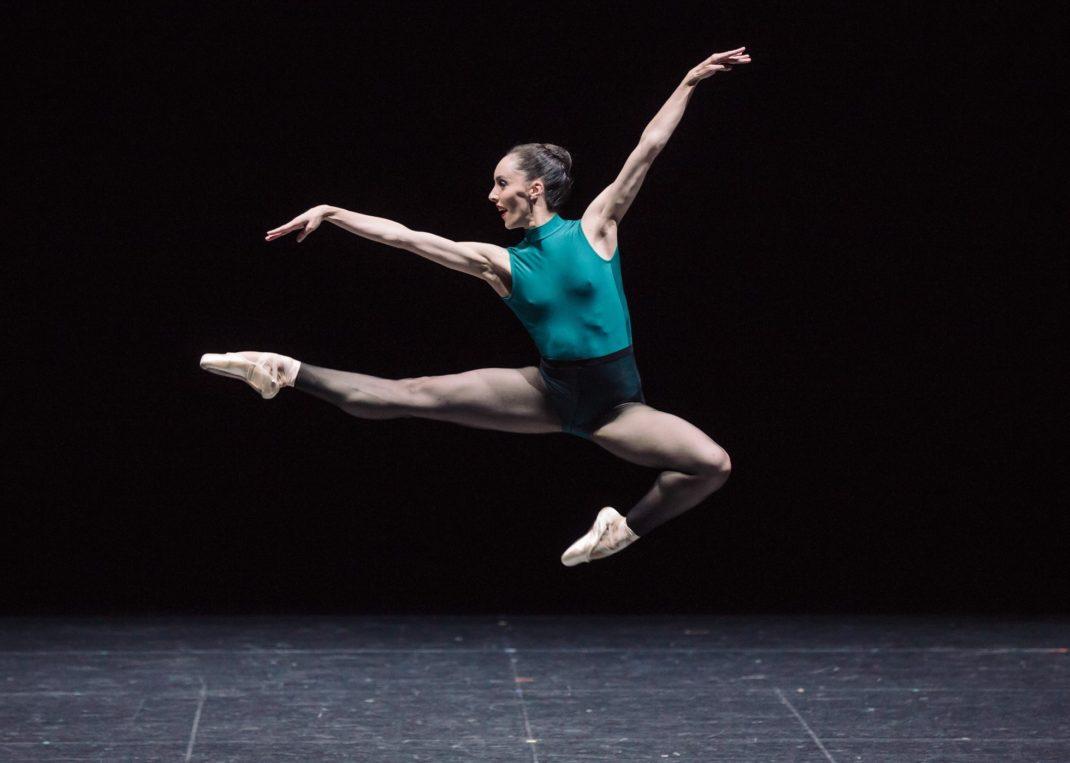 Amy Harris in 'In the Middle, Somewhat Elevated. The Australian Ballet 2016. Photo: Daniel Boud