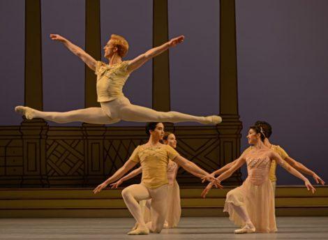 Steven McRae in Rhapsody. The Royal Ballet. Photo (c) Dave Morgan @DanceTabs.com