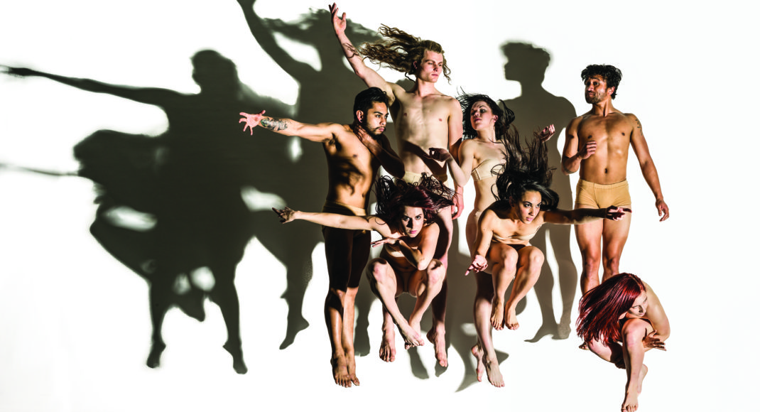 New Zealand Dance Company in a study for 'Lumina'. Photo: John McDermott