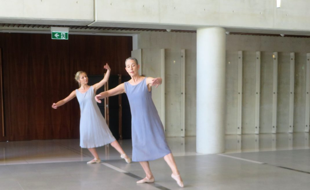 Julia Cotton and Elle Cahill in Duet for David, National Portrait Gallery, 2016