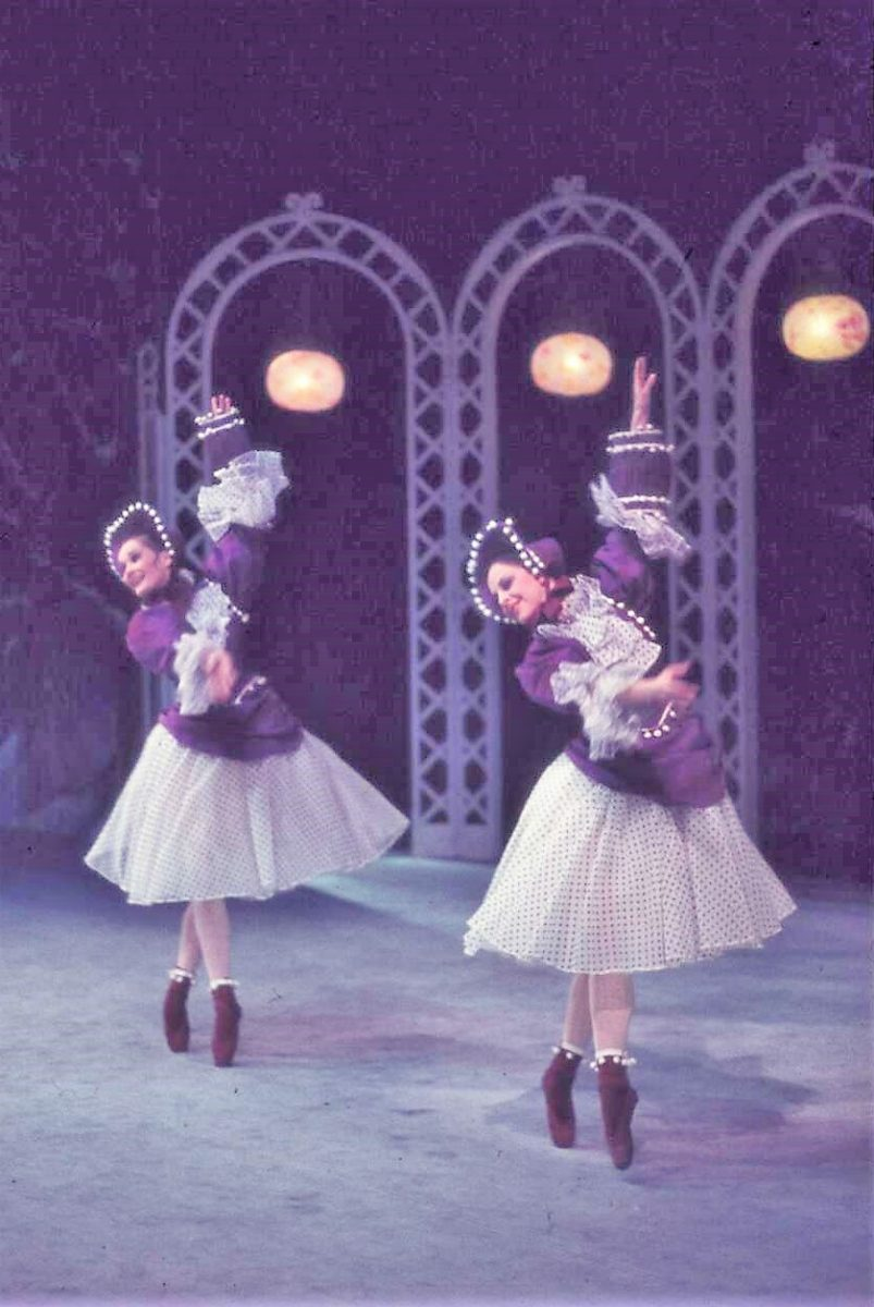 Scene from 'Les Patineurs', Royal Ballet, melbourne 1958. Photo: Walter Stringer/National Library of Australia