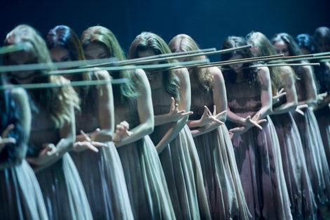 Akram Khan's 'Giselle', Act II, English National Ballet. Photo: © Laurent Liotardo