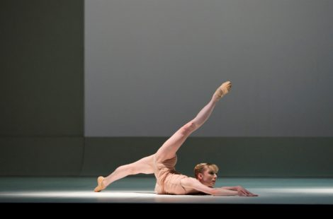 Sarah Lamb in 'Chroma'. The Royal Ballet 2013. Photo: © Bill Cooper.