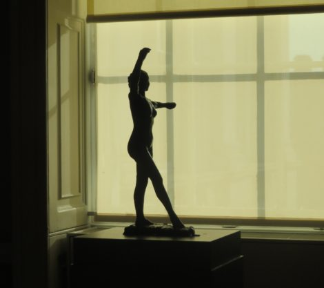 Degas dancer, the Courtauld Gallery