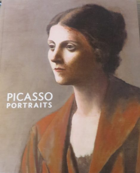 Book cover, Picasso Portraits
