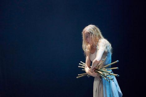 Stina Quagebeur as Myrtha in Akram Khan's 'Giselle', English National Ballet, 2016. Photo: Lauren Liotardo
