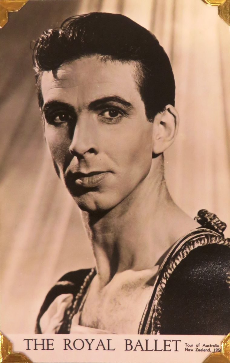 Bryan Ashbridge, Royal Ballet postcard, 1958
