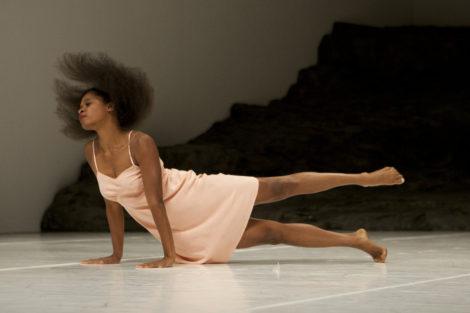 Regina Advento in 'Masurca Fogo'. Tanztheater Wupertal Pina Bausch. Photo: Laszlo Szito