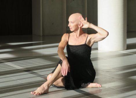 Anca Frankenhaeuser in 'Toccata', BOLD Festival. National Portrait Gallery, 2017