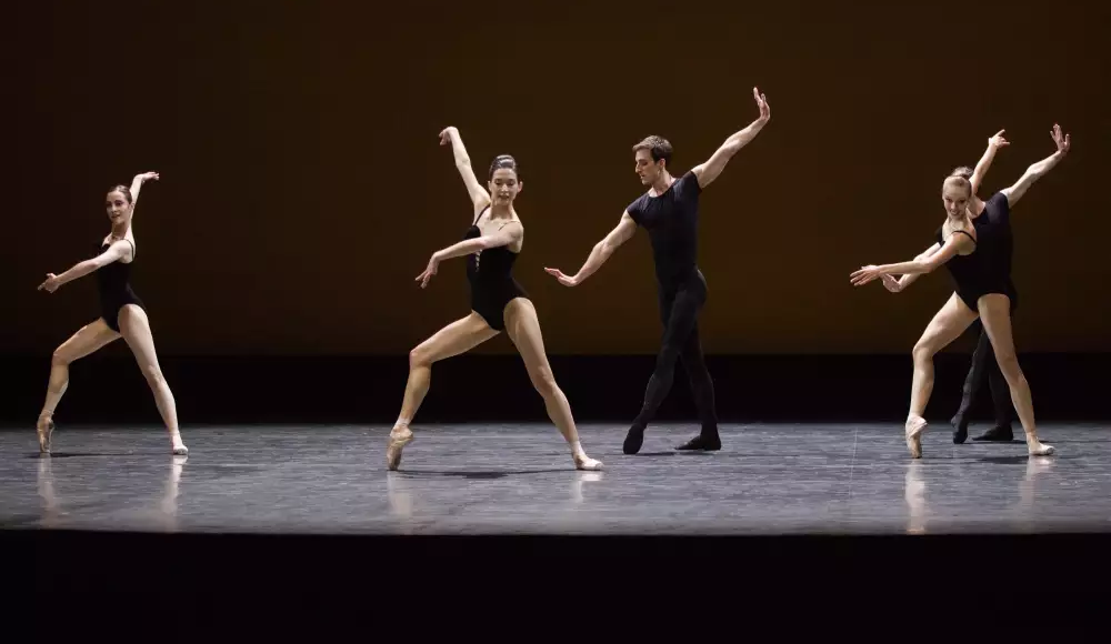 Artists of Paris Opera Ballet in 'Herman Schmerman'. Photo: © Ann Ray/Opera national de Paris