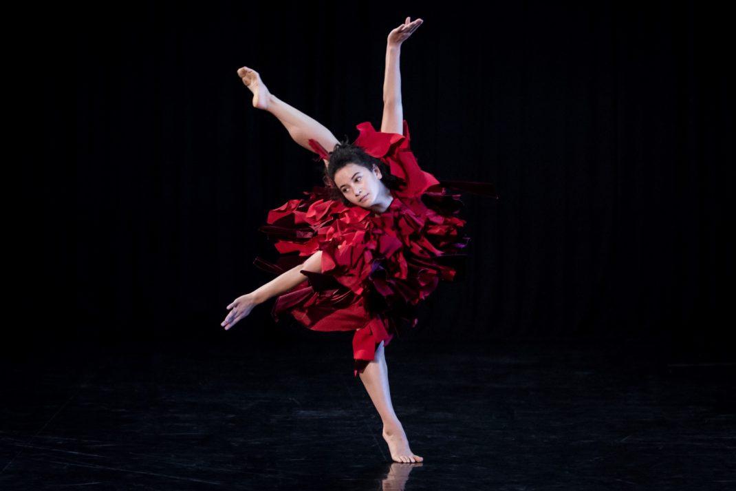Latisha Sparks in 'Full Moon'. Sydney Dance Company, 2017. Photo: © Pedro Greig