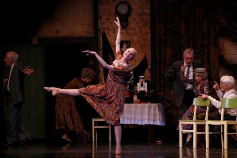 Chrissa Keramidas as Clara the Elder in 'Nutcracker. The story of Clara.' The Australian Ballet, 2017. Photo: © Jeff Busby