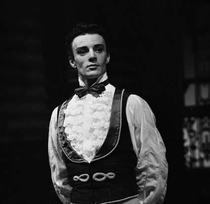 BryanLawrence in 'Le Conservatoire'. The Australian Ballet, 1965. Photo: Ken Byron, Australian News and Information Bureau