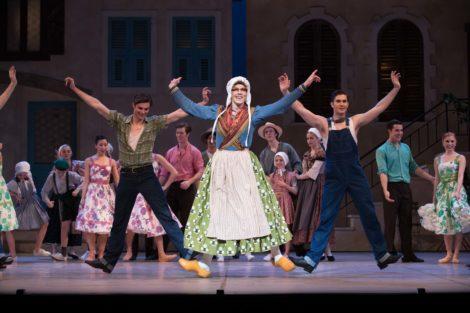 Artists of Queensland Ballet in 'La Fille mal gardee', 2017. Photo: © David Kelly